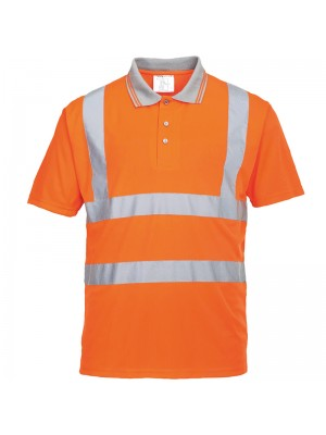 Plain polo shirt Hi-vis Portwest 175 GSM