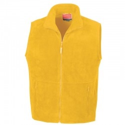 Plain Bodywarmer Active Fleece Result 300 GSM