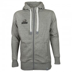 Plain Madrid full-zip hoodie Rhino 280 GSM
