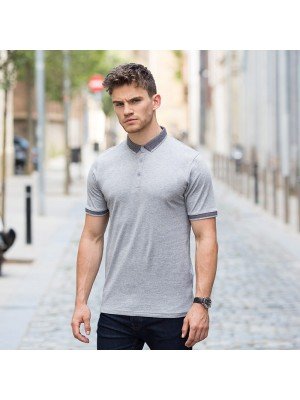 Plain Polo Shirt Men Contrast Fashion Jersey Skinnifit 180 GSM