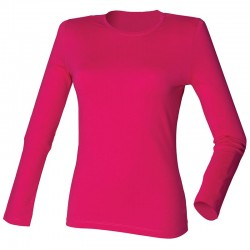 Plain stretch T Women's long sleeve SF 190 GSM