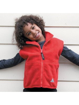 Plain Junior PolarTherm bodywarmer Result 330 GSM