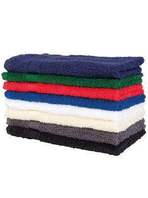 Plain Luxury range hand towel  Towel City 550gsm Thick pile