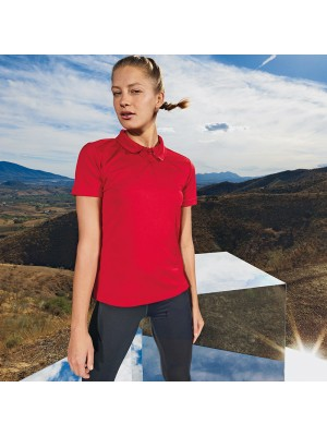 Plain Women's TriDri® panelled polo TriDri 135 GSM