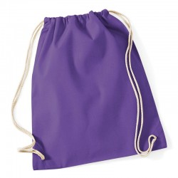 Bag Cotton gymsac Westford mill 85 GSM