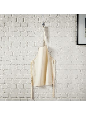Plain Fairtrade cotton junior craft apron Westford Mill 100 GSM