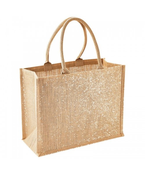 Shimmer Jute Shopper Westford Mill 292 GSM