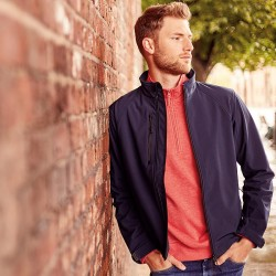 Plain Soft Shell Jacket Men Russell