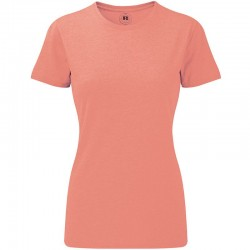 Plain T-shirt Women's  HD russell  White 155, Colours 160 GSM