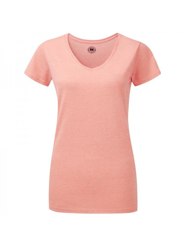 Plain T Shirt Women S V Neck Hd Russell White 155 Colours 160 Gsm