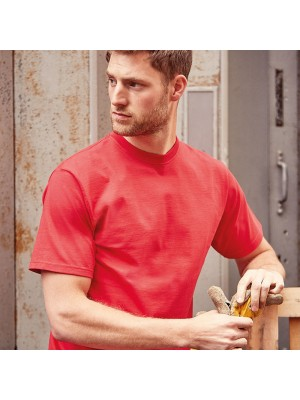 Plain Classic heavyweight ringspun t-shirt Russell White 210gsm, Colours 215gsm