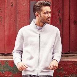 Plain Authentic sweatshirt jacket Russell 280 GSM