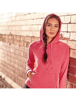 Plain Women's HD hooded sweatshirt Russell 250 GSM