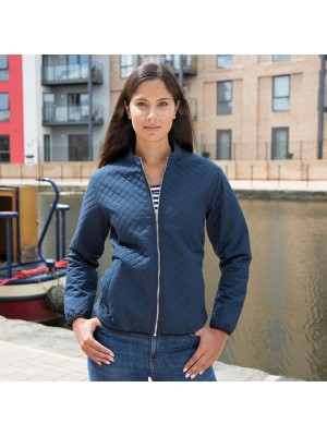 Plain Women's phantom MA1 softshell bomber Result