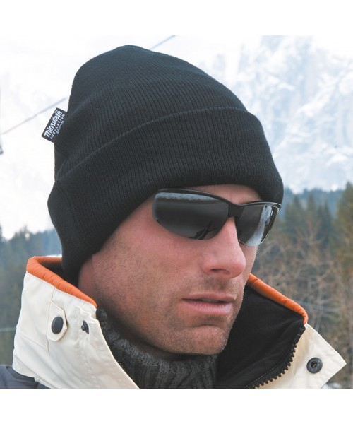 Plain Woolly ski hat with Thinsulate™ insulation Result 340 GSM