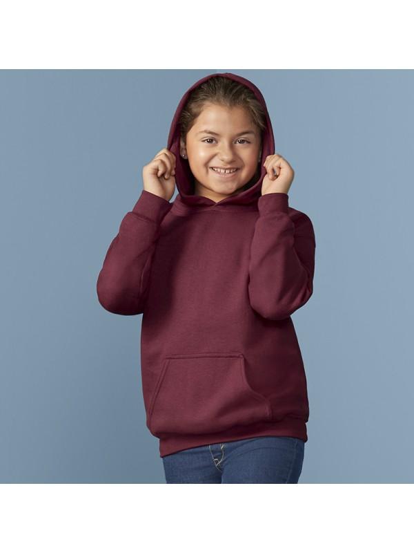 Plain Navy Sweatshirt Children Boys Girls Sizes PolyCotton by David Luke UK Made