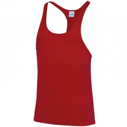 Plain Muscle Vest Just Cool AWDis 140 GSM