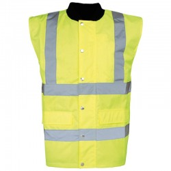 Plain High-visibility bodywarmer RTY
