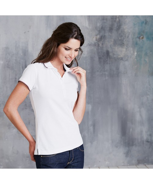 Plain Women's short sleeve polo shirt Kariban 220 GSM