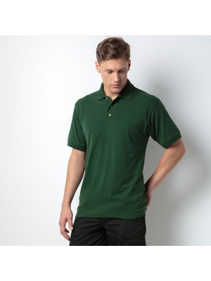 Plain Workwear polo with Superwash® 60°C Kustom Kit 180 GSM