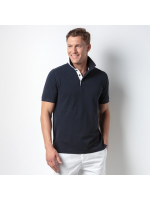Plain Club style slim fit polo Kustom Kit 210 GSM