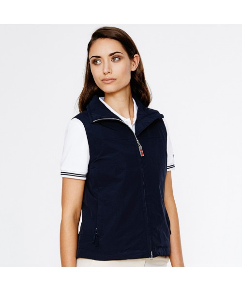 Plain Women's summer sailing vest Slam 120 GSM