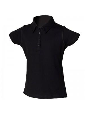Plain Kids stretch polo Skinni Minni SF 200 GSM