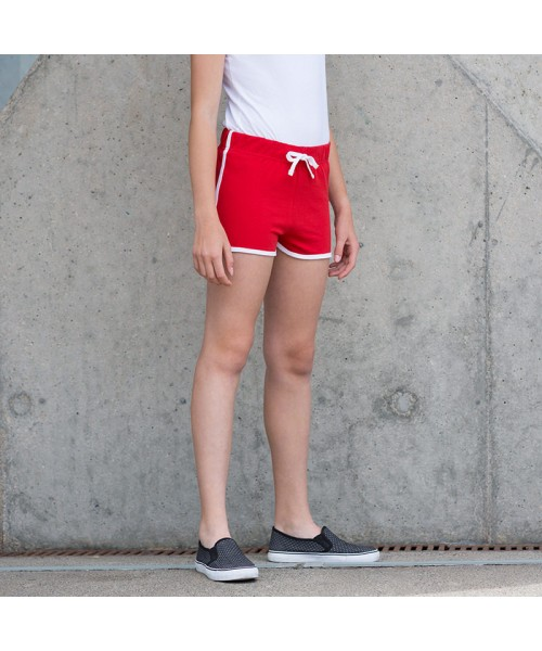 Plain Kids retro shorts Skinnifit 220 GSM