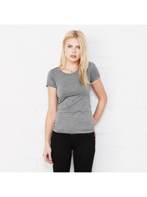 Plain Triblend crew neck t-shirt Bella+Canvas 130 GSM