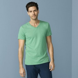 Plain T-shirt Softstyle® v-neck GILDAN 141 GSM