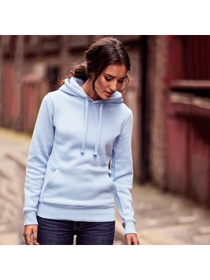 Plain Women's authentic hooded sweatshirt Russell 280 GSM