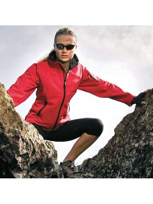Plain Soft Shell Jacket Ladies Result