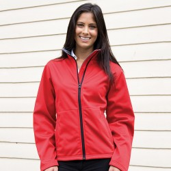 Plain Soft Shell Jacket Core Ladies Result