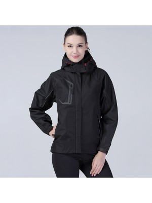 Plain Women's Nero jacket Spiro 140 GSM