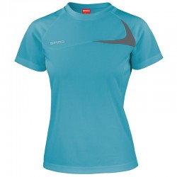 Plain Women's Spiro dash training shirt Spiro 136 GSM