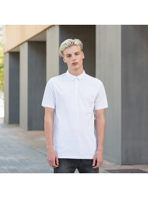 Plain Polo Shirt Men Fashion Jersey Skinnifit 180 GSM