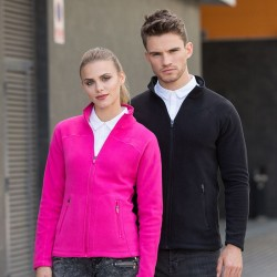Plain Micro Fleece Jacket Men Skinnifit 200 GSM