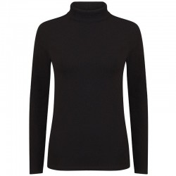 Plain top Women's feel good roll neck SF 165 GSM