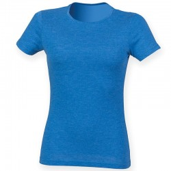 Plain Women's triblend T SF 150 GSM