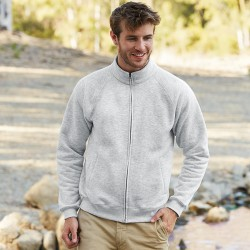 Plain Sweat Jacket Premium Fruit of the Loom 280 GSM