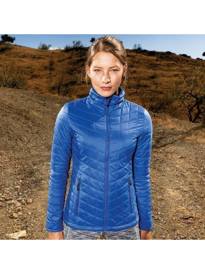Plain Women's ultralight thermo quilt jacket TriDri 38g (+ or - 3g) Padding: Dupont™ Sorona® 100 GSM