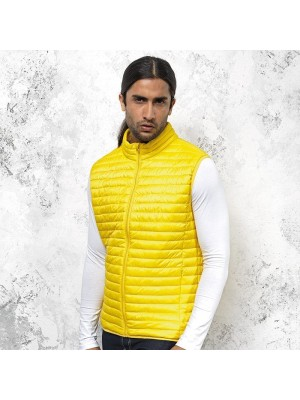 Plain fineline padded gilet 2786 Outer 40gsm, Lining 50gsm, Wadding 250 GSM