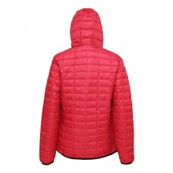 Plain Women's honeycomb hooded jacket 2786 Outer: 36gsm, Lining: 52gsm, Wadding: 250 GSM