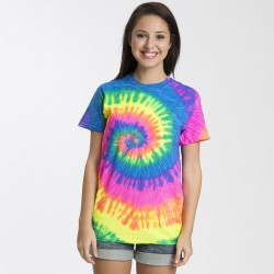 Plain shirt Rainbow Tie-Dye 175 GSM