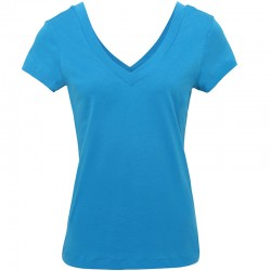 Plain Sheer Jersey Double-V t-shirt Bella +Canvas 110 GSM
