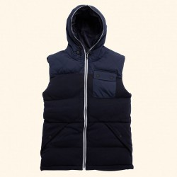 Plain Stockport -  two tone gilet Brave Soul