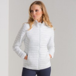 Plain Women's tribe fineline padded jacket 2786 Shell: 40gsm. Padding: 228gsm. Lining: 50 GSM