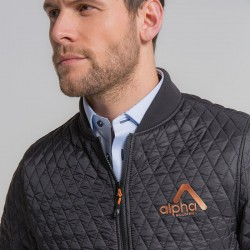 Plain Quilted flight jacket 2786 Outer: 36gsm. Lining: 52gsm. Wadding: 160 GSM