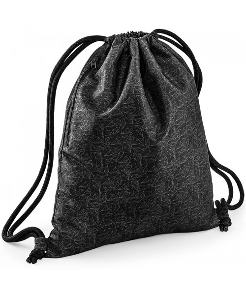 Graphic drawstring backpack BagBase 200g