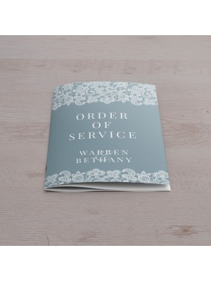 A5 Orders of Service